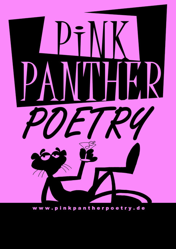 Plakat PINK PANTHER POETRY - DIN A1 NEON
